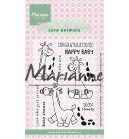 Eline's Giraffe - Marianne Design
