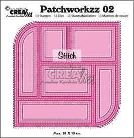 Modern Patchwork #2 - Crealies