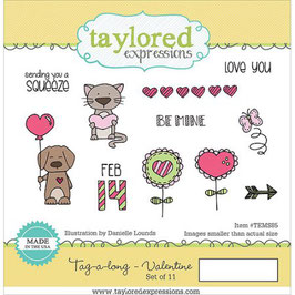 Tag-A-Long Valentine - Taylored Expressions