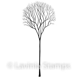 Single Skeleton Tree - Lavinia Stamps