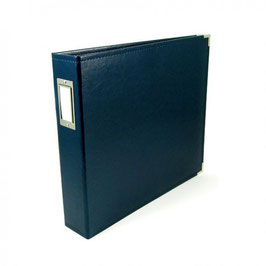 Faux Leather Album, Navy - We R Memory Keepers