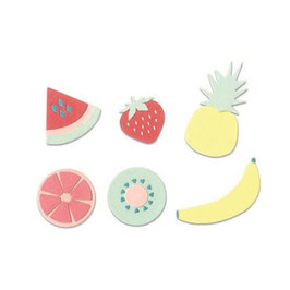 "Thinlits Die Set ""Summer Fruit"" - Sizzix"