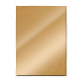 Harvest Gold Gloss Mirror Card - Tonic Studios