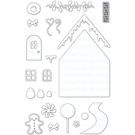 Gingerbread House - Your Next Stamp Die