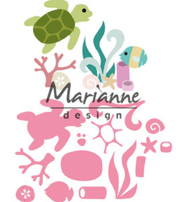 "Collectables ""Sealife"" - Marianne Design"