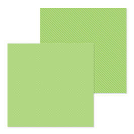 Dot-Stripe Petite Prints, Limeade - Doodlebug