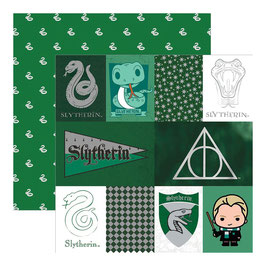 "Designpapier ""Harry Potter, Slytherin"""