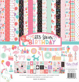 It's Your Birthday Girl 12x12 Collection Kit  - Echo Park