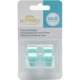 Mini Alphabet Punch Board Blade Refill - We R Memory Keepers