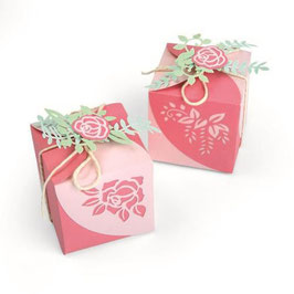 "Thinlits Die Set ""Wrap Favor Box"" - Sizzix"