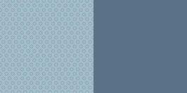 Uni und Anker, Schwedenblau - Dini Design