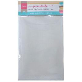 Die Cutting Foam Sheets 1mm - Marianne Design
