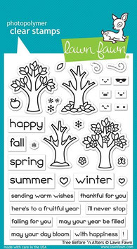 """Clearstampset """"Before 'n Afters"""" - Lawn Fawn"""