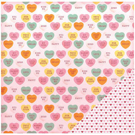 Valentine, Candy Hearts - American Crafts