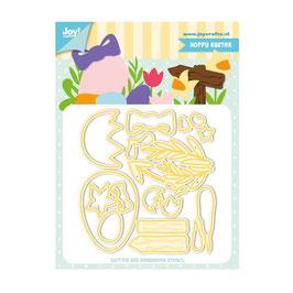 "Stanzschablone ""Hoppy Easter"" - Joy!Crafts"