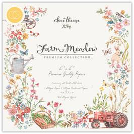 Farm Meadow 6x6 Paperpad - Craft Consortium