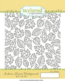 Autumn Leaves Background - Taylored Expressions