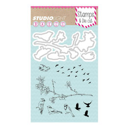 "Stamp & Die Cut ""Birds"" - Studiolight"