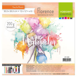 Watercolor Paper Smooth - Florence