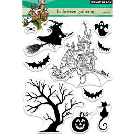 "Clearstampset ""Halloween Gathering"" - Penny Black"