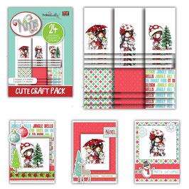 Winnie Winter Friends Cute Craft Topper Pack - Polkadoodles