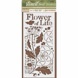 Flower of Life, Schablone - Stamperia