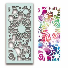 """Schablone """"Flower Collage"""" - Polkadoodles"""