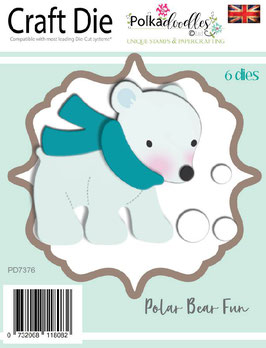 Polar Bear - Polkadoodles
