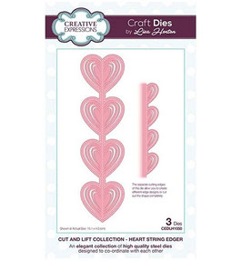 """Cut and Lift """"Heart String Edger"""" - Creative Expressions"""