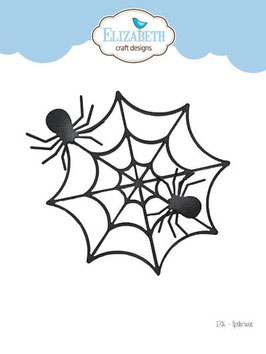 "Stanzschablone ""Spider Web"" - Elizabeth Craft Design"