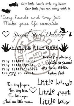 Baby Texte - Marianne Design