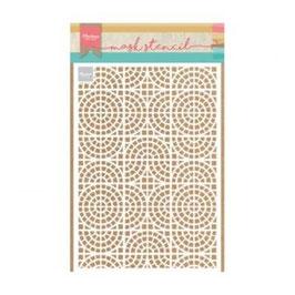 """Schablone """"Mosaic Tiles"""" - Marianne Design"""