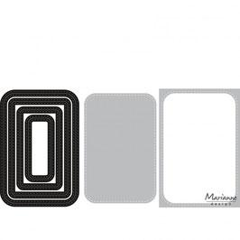 Basic Stitch Passepartout Rechteck - Marianne Design