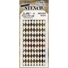"""Layered Stencil """"Harlequin"""" - Tim Holtz"""