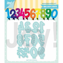 "Stanzschablone ""Balloon Digits"" - Joy Crafts"