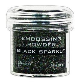 "Embossingpulver ""Black Sparkle"" - Ranger"
