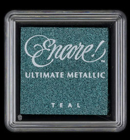 Encore Small - Metallic Teal Blue