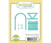 Garden Arbor & Gate - Taylored Expressions