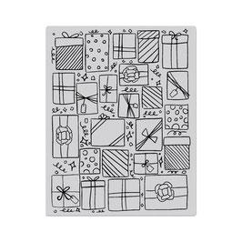 Presents Background Stamp - Hero Arts