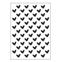 "Prägeschablone ""Hearts"" - Vaessen"