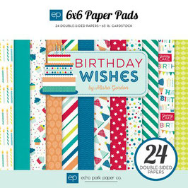 Birthday Wishes Boy - Echo Park Paper