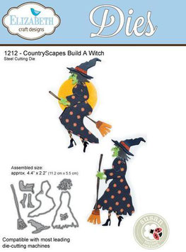 Build A Witch - Elizabeth Craft Designs