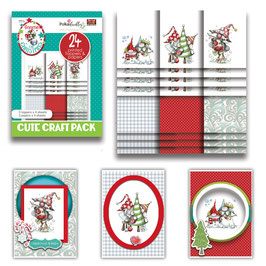 Gnome For Christmas Cute Craft Topper Pack - Polkadoodles