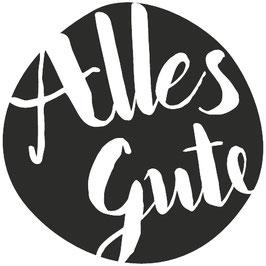 """Holzstempel """"Alles Gute"""""""