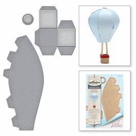 Hot Air Balloon - Spellbinders