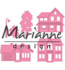 "Collectable ""Mini Village"" - Marianne Design"
