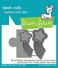 "Stanzschablone ""Reveal Wheel Shooting Star Add-On"" - Lawn Fawn"
