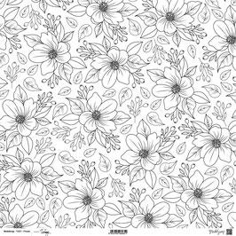 "Designpapier ""Primula"" - ModaScrap"