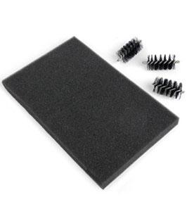 Ersatz Die Brush-Aufsteckbürsten & Foam Pad - Sizzix