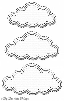 Stitched Clouds - My Favorite Things